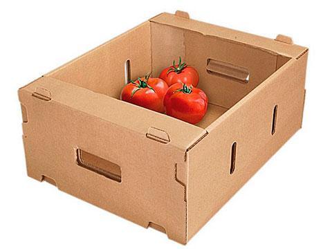 Лотки для овощей и фруктов из гофрокартона